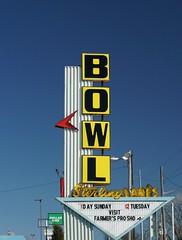 It's A Sterling Day To Bowl (pam's pics-) Tags: picmonkey bowling sterlingbowl neon neonsign vintagesign bowl pamspics pammorris sports missouri sugarcreekmissouri midwest us usa america mo