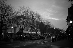 Santa Cruz, California (peaceblaster9) Tags: santacruz california street sky blackandwhite bnw monochrome ricoh gr サンタクルーズ カリフォルニア ストリート モノクローム
