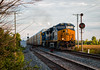 CSX 3339, Piqua, OH (Wheelnrail) Tags: csx csxt locomotive et44ac ge signal cpl signals bo toledo subdivision piqua ohio troy midwest rails train trains summer evening autorack q tier 4