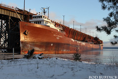 lat123117dkscn_rb (rburdick27) Tags: leeatregurtha interlakesteamshipcompany oredock marquette lakesuperior scenicmichigan ice snow