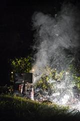 Feuerwerk auf der Wiese (Markus Holsträter) Tags: nikon d3300 outside nacht night rauch gras wiese funken feuerwerk firework