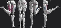 NJ_wip22 (Cagerrin) Tags: lego system technic wip mecha robot giantheckingrobot ldd legodigitaldesigner 3d