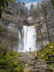 Grande cascade - Consolation-Maisonnette (25) - France (Romain VENOT) Tags: cascade waterfall consolation eau water doubs crues paysage franchecomté olympus m10markii