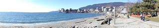 Ambleside Beach panorama
