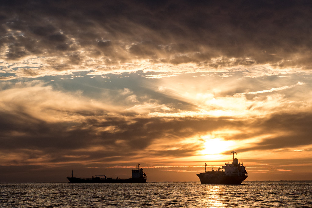 Big Boats Sunset