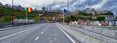 On the Road (YᗩSᗰIᘉᗴ HᗴᘉS +11 000 000 thx❀) Tags: road bridge namur belgium belgique hensyasmine yasminehens drapeau be bel citadelle