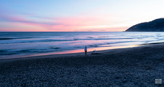 500201801aANDORA-162 (GIALLO1963) Tags: ze blue orange pink clouds sky sand seaside distagon carlzeiss loneliness woman phoneshooter peole bay andora beach seascape sunset seashore people sea distagont225 europe italy liguria zeissdistagon225mmze zeiss canoneos5ds landscapes architecture street