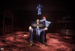 Mikel y sus Fantasmas (albertoleiras) Tags: fantasma fantasmas gosht canon1740f4l canon6d lightpainting monasteriosantacatalina galicia ares