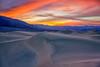 Sunset on the Dunes (Roving Vagabond aka Bryan) Tags: deathvalleynationalpark sunset sand dunes sanddunes clouds cloud mountain landscape sky explore