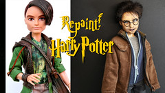 Repaint! Harry Potter OOAK doll (Dolls Brand-New Look) Tags: harrypotter ooak ooakdoll