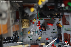A Cold Day In Hell 10 by Barthezz Brick (Barthezz Brick) Tags: crime scene lego moc barthezz brick city police dreams custom barthezzbrick
