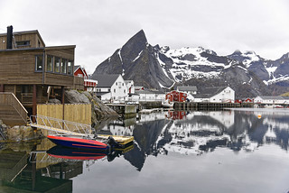 Hamnøy village, Lofoten Islands, Norway
