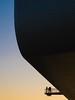Renzo Piano. Centro Botin #19 (Ximo Michavila) Tags: renzopiano ximomichavila abstract sunlight sunset sky clear day centro botin santander cantabria spain architecture archdaily archidose archiref museum curved