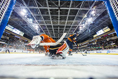 """Kansas City Mavericks vs. Colorado Eagles, December 16, 2017, Silverstein Eye Centers Arena, Independence, Missouri.  Photo: © John Howe / Howe Creative Photography, all rights reserved 2017. • <a style=""""font-size:0.8em;"""" href=""""http://www.flickr.com/photos/134016632@N02/24278196917/"""" target=""""_blank"""">View on Flickr</a>"""
