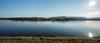 Panorama Traun bei Sonnenschein (ANVOTO) Tags: sonnenschein fluss wels landschaft panorama traun river landscape water