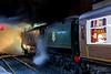 Steamy night time bullied (Nigel Valentine) Tags: 34092 city wells night steam southern east lancashire railway