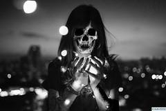 Zombie Girl (DJR-FOTO) Tags: zombie apokalypse apocalypse bw blackwhite awsome affinityphoto 2018 light sw schwarzweis bildbearbeitung 4k uhd djrfoto djr