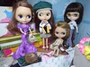 BaD Dec 26 - St Stephens Day - or Boxing Day where we are (lyndell23) Tags: blythedolls blytheaday photochallenge takaradressset adglounginglovely rosieredbl frenchtrenchblythe simplychocolateblythe alohaspiritdressset schoolgirldreamdressset rainydaydressset simplysweetdressset