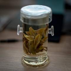 the Flute Brewer from Mei Leaf (mkniebes) Tags: tea brewer meileaf flutebrewer drink food beverage greentea