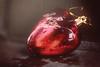 Redux 2017- Heart (victoriameyo) Tags: redux2017myfavoritethemeoftheyear macromondays heart red wet valentine love shape glass toy christmas newyear drops water