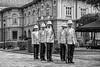 Royal guard in Grand Palace - Bangkok (thomas.j.fritsch) Tags: leicasl bangkok grandpalace guard militaryperson official policeofficer royalguard staff tourism uniform