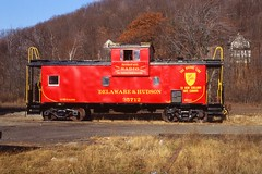 D&H 35712 (irail2010) Tags: caboose dh