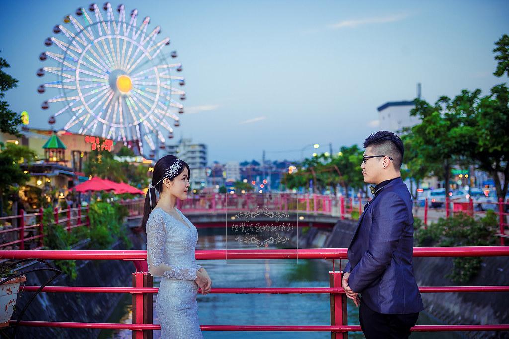 海外婚紗,婚禮,攝影,自助旅拍,國外,日本,沖繩,美國村,摩天輪