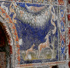 """""""Hunting scene"""" - Glass Mosaic of """"Triclinium"""" (dining-room) in the house of """"Neptune and Amphitrite"""" at Herculaneum, buried by Vesuvius' eruption on 79 AD (Carlo Raso) Tags: hunting mosaic glass herculaneum"""