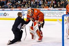 "Kansas City Mavericks vs. Colorado Eagles, December 16, 2017, Silverstein Eye Centers Arena, Independence, Missouri.  Photo: © John Howe / Howe Creative Photography, all rights reserved 2017. • <a style=""font-size:0.8em;"" href=""http://www.flickr.com/photos/134016632@N02/25271502878/"" target=""_blank"">View on Flickr</a>"