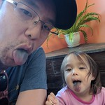 "Tongues out! Shaved ice with our niece <a style=""margin-left:10px; font-size:0.8em;"" href=""http://www.flickr.com/photos/124699639@N08/25315310008/"" target=""_blank"">@flickr</a>"