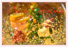 Merry Christmas 2017 (Karen McQuilkin) Tags: charliebrown snoop linuslucy piano thememusic