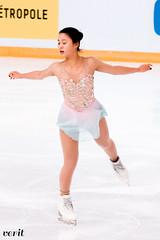 Yuna Shiraiwa (asveri) Tags: yunashiraiwa figureskating isufigureskating ifp2017 grandprix grandprixfrance practice internationauxdefrance