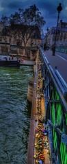 Locks of Love. (Fotofricassee) Tags: none bridge locks love paris