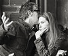tete a tete (Dean Forbes) Tags: cafe seattle candid couple capitolhill bw