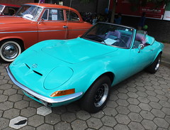 Opel GT 1900 Convertible 1973 (Zappadong) Tags: opel gt 1900 convertible 1973 winsen luhe 2017 conversion zappadong oldtimer youngtimer auto automobile automobil car coche voiture classic classics oldie oldtimertreffen carshow