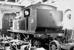 In the Works (4486Merlin) Tags: bw england europe exsr isleofwight lswro2class railways steam transport unitedkingdom workshop ryde gbr w28 ashley