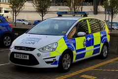 Mersey Tunnels Police Ford S-Max Zetetc Incident Response Vehicle (PFB-999) Tags: mersey tunnels police mtp ford smax zetec mpv incident response vehicle car unit irv lightbar grilles fendoffs leds da13env liverpool