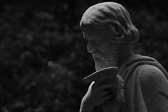 Statue at Sydney Botanical Gardens (Luke6876) Tags: statue sydneybotanicalgardens blackwhite