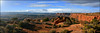 Canyonlands Panorama (Color Blind 56) Tags: canyonlands panorama utah overlook wideangle wilderness rock sky landscape nikon d7100 cb1956 viewpoint mountains canyonlandsnationalpark natural nationalpark panoramicview photoshopelements13