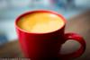 Americano by Pacific Coffee (Pexpix) Tags: dof cup crema colour closeup coffee pacificcoffee americano fujix100t red color hongkong hongkongisland hk 攝影發燒友