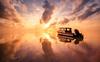 Sunrise at Takabonerate National Park (syukaery) Tags: sunrise landscape nikon d750 nikkor indonesia selayar takabonerate tinabo nationalpark seascape boat clouds reflection 1635mm
