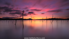 THE LAST HOPE (Obikani) Tags: lautada llanada álava araba pantano landa ullibarrigamboa lake swamp deadforest colorfull serene beauty reflections euskadi paísvasco zerua cielo sky clouds nubes