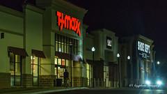 TJ Max (augphoto) Tags: augphotoimagery architecture buildings exterior mall night nighttime greenwood southcarolina unitedstates