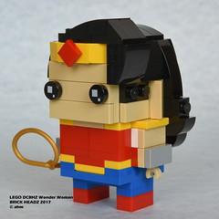 LEGO DCBHZ Wonder Woman (KatanaZ) Tags: legodcbhz wonderwoman lego brickheadz dccomics superheroes