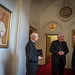 Cardinal Vincent Nichols meets with Monsignor Fernando Ocáriz The  Prelate of  The Opus Dei during his visit in London