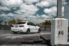 BMW F80 M3 VELGEN FORGED VFDB10 (VelgenWheels) Tags: bmw f80 m3 bimmer velgen velgenforged google bing yahoo sedan slammed lowered german bimmers exhaust vfdb10 forged wheels automotive