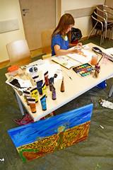 Styrian Summer Art 2017 Fotos by Chri Strassegger (3) (Styrian Summer Art) Tags: juli17iv styriansummerart siebdruck acrylmalerei kunstkurse kunstworkshop kunst kunstseminar naturparkpöllauertal