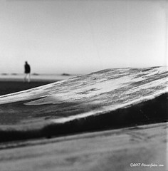 "Wave #rolleiflex #abruzzo #blackandwhite #filmisnotdead # (""Olivier Jules"") Tags: rolleiflex abruzzo blackandwhite filmisnotdead"