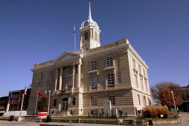 Maury County Courthouse at Christmas - Columbia, TN