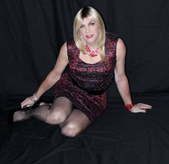 IMG_9632 (bethany_labelle) Tags: transvestite sparkly dress blonde pantyhose